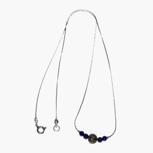 collier perles agate