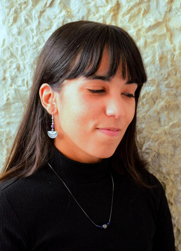 Boucles d'oreilles Collier
